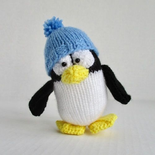 Makerist - Pablo the Penguin - Knitting Showcase - 1
