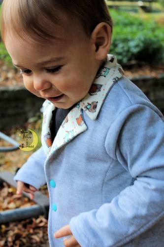 Makerist - *Blazer Kinder* - Nähprojekte - 2