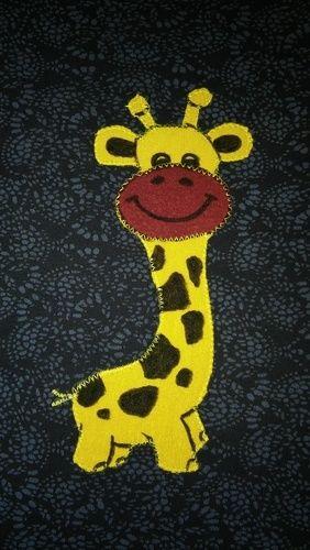 Makerist - Shirt mit Giraffe - Nähprojekte - 1