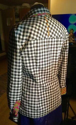Makerist - alles andere als kleinkariert: meine erste bluse - Nähprojekte - 2