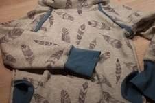 Makerist - Hoodie für meinen großen aus Alpenfleece - 1