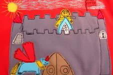 """Makerist - """"Bemalte"""" Kindershirts mit Kinderzeichnungen - 1"""