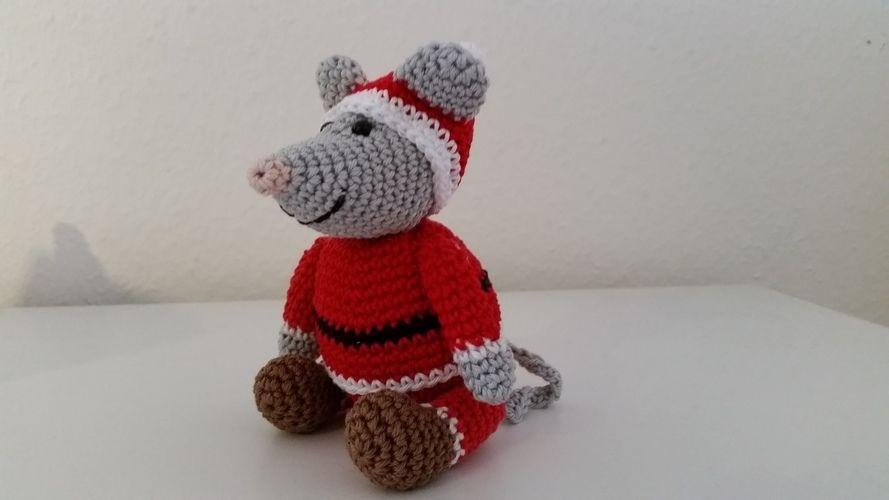 """Makerist - Nikolaus-Maus """"Mini"""" - gehäkelt - Häkelprojekte - 2"""