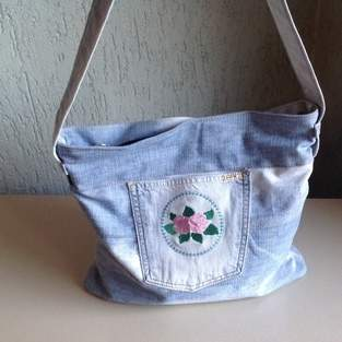 Up cycling Tasche
