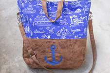 Makerist - Maritimer Shopper - 1