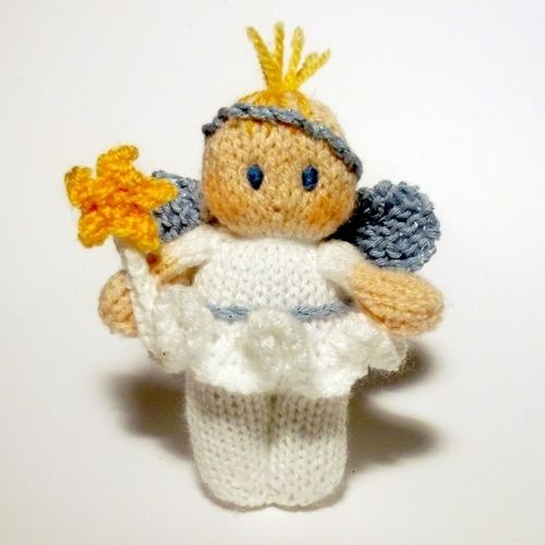 Makerist - Christmas Fairy - Knitting Showcase - 1