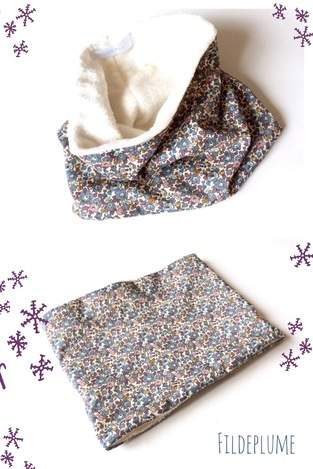 Snood enfant doudou/liberty