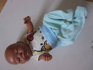 Makerist - Hose in Größe 50 fürs Puppenkind - 1