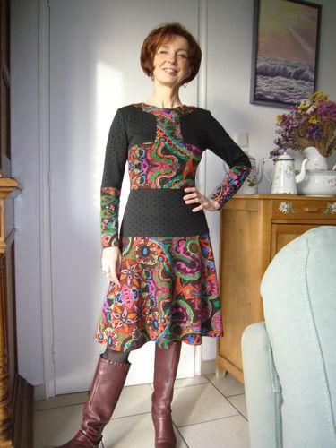 Makerist - Robe Patchée - Créations de couture - 1