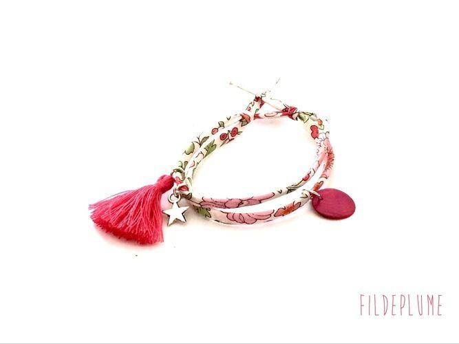 Makerist - Bracelet en liberty - Autres créations - 1