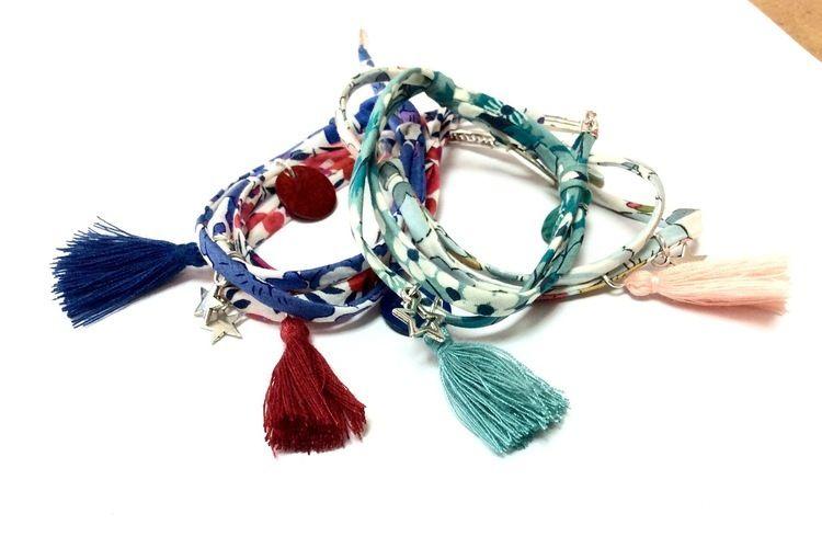 Makerist - Bracelet en liberty - Autres créations - 3
