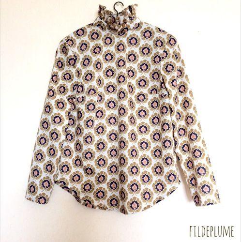 Makerist - Blouse femme en liberty Bosphorus - Créations de couture - 1