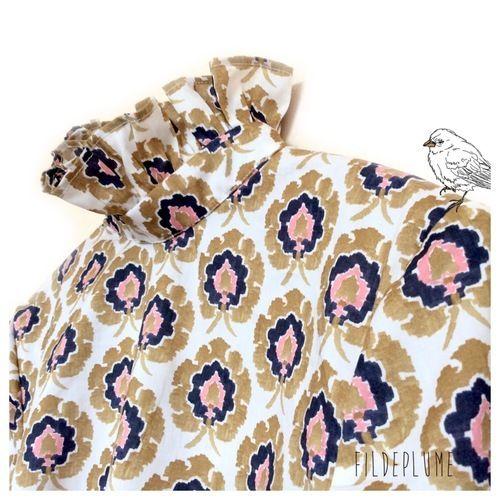Makerist - Blouse femme en liberty Bosphorus - Créations de couture - 2