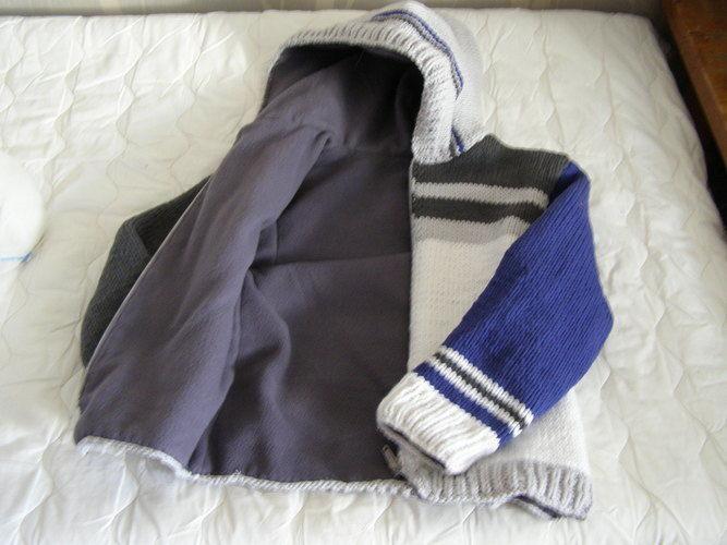 Makerist - Blouson laine et polaire - Créations de tricot - 2