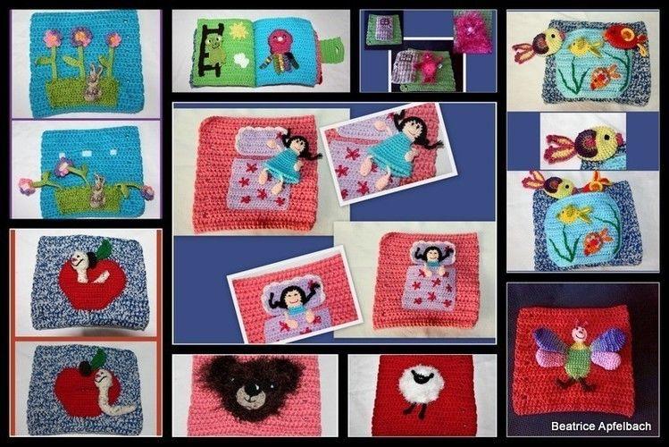 Makerist - Kinderbuch zum Fühlen und Entdecken - Häkelprojekte - 3