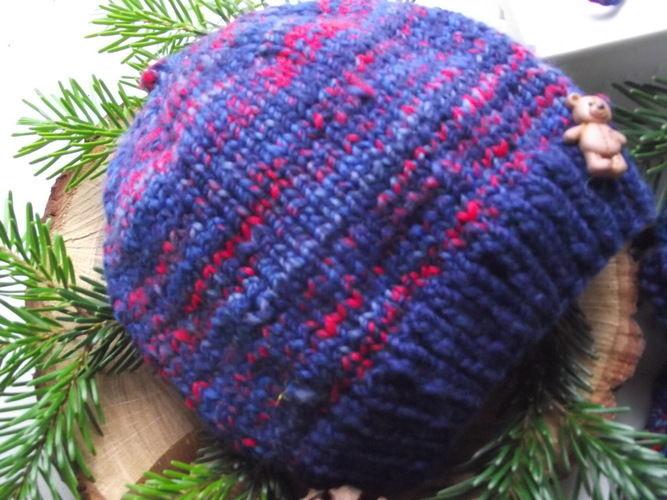 Makerist - Zwergenmütze & Babyhandschuhe aus handgesponnener Wolle (0-4 Monate) - Strickprojekte - 3