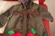Makerist - Mantel Gretchen, Walkloden Stoff, voll gefüttert. Für mein kleines Enkelchen. - 1