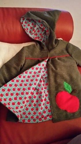 Makerist - Mantel Gretchen, Walkloden Stoff, voll gefüttert. Für mein kleines Enkelchen. - Nähprojekte - 2