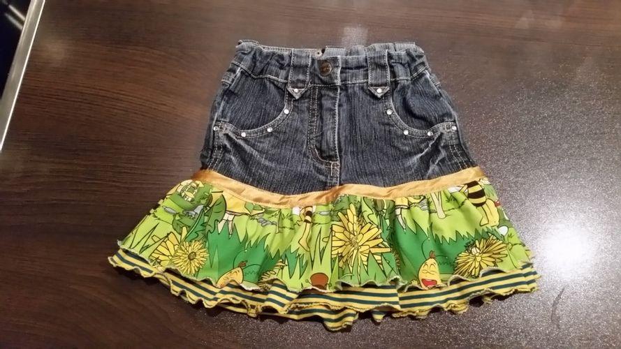 Makerist - Jeansröcke aus Stoff Reste - Nähprojekte - 1