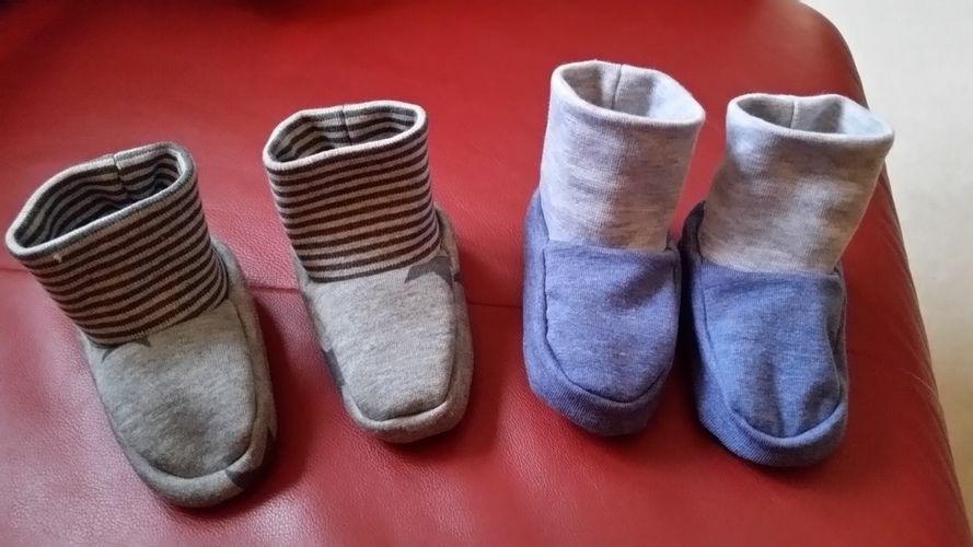 Makerist - Baby Schuhe - Nähprojekte - 1