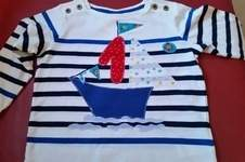 Makerist - Shirt zum 1. Geburtstag / Applikation - 1