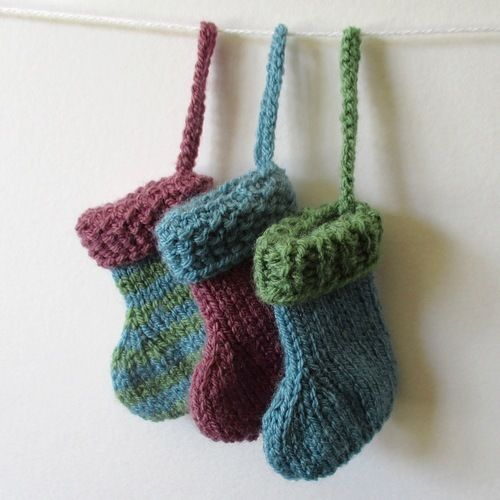 Makerist - Christmas Stockings - Knitting Showcase - 1