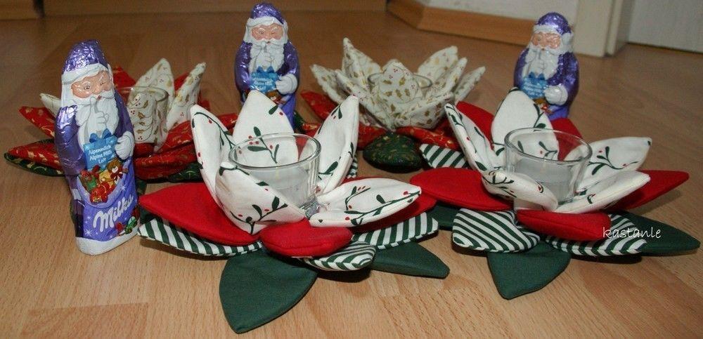 Makerist - Weihnachtliche Teelichter - Nähprojekte - 1