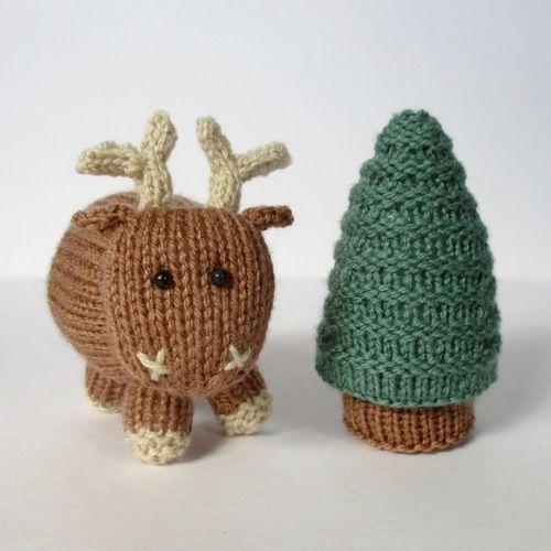 Makerist - Rene the Reindeer - Knitting Showcase - 1