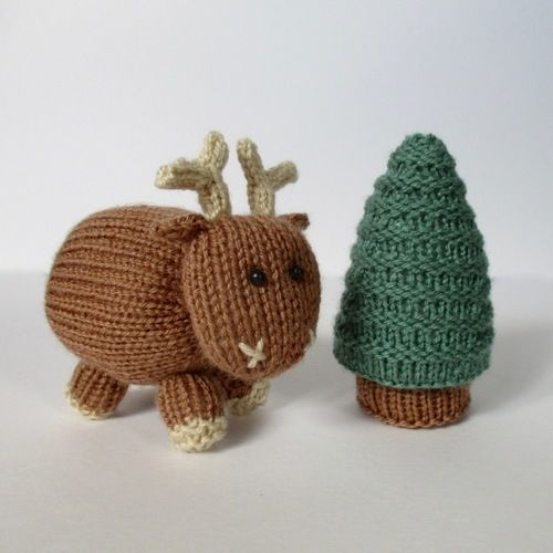 Makerist - Rene the Reindeer - Knitting Showcase - 2
