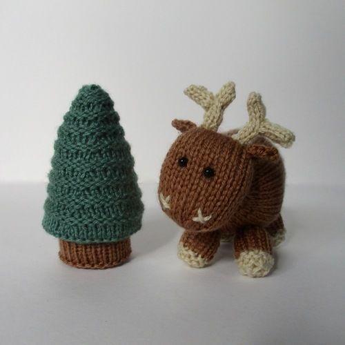 Makerist - Rene the Reindeer - Knitting Showcase - 3