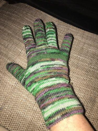 Makerist - Fingerhandschuhe aus Sockenwolle für meinen Mitbewohner - Strickprojekte - 2
