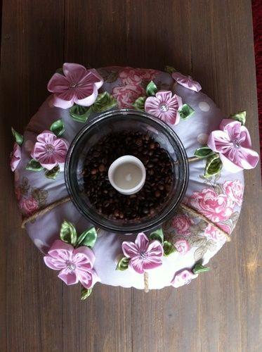 Makerist - Genähter stoffkranz mit handgenähte Blumen - Nähprojekte - 2