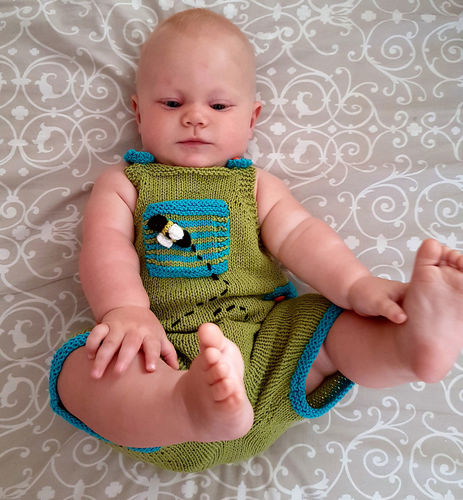 Makerist - Playful Dungaree Playsuit - Knitting Showcase - 1