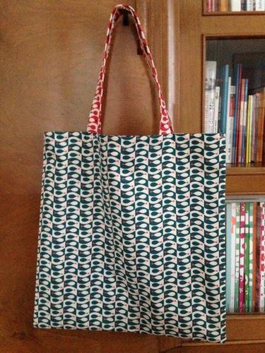 Makerist - Tasche Flosse - aus den Stoffen Flosse - von Frau Tulpe - für meine Neffen - Fliegenfischer! - Nähprojekte - 2