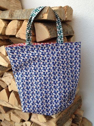 Makerist - Tasche Flosse - aus den Stoffen Flosse - von Frau Tulpe - für meine Neffen - Fliegenfischer! - Nähprojekte - 3