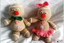 Makerist - Maspi et Maspa, doudou en crochet spécial Noel - 1