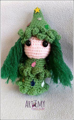 Makerist - Sapinette et Lumineige, décoration spéciale Noel - Créations de crochet - 2