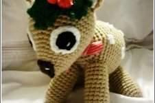 Makerist - MYCKI, le petit faon; doudou en crochet spécial Noel - 1