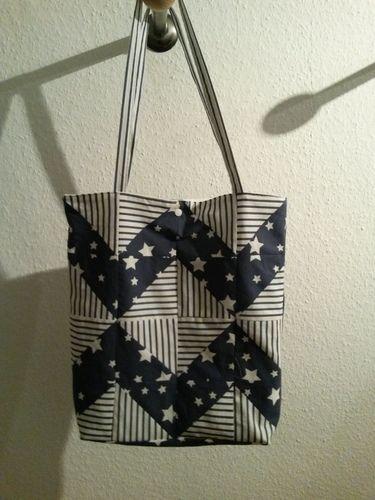 Makerist - Patchwork-Stofftasche - Nähprojekte - 1