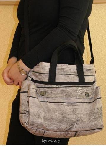 """Makerist - Tasche """"Big Elli"""" von Shesmile - Nähprojekte - 1"""