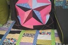 Makerist - Patchwork Kissen - 1