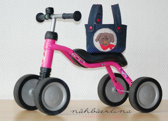 Makerist - Lenkertasche für Puky (oder Kinderfahrrad) genäht von nähbäerlina - Nähprojekte - 2