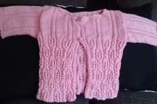 Makerist - Baby Jacke aus Sockenwolle  - 1