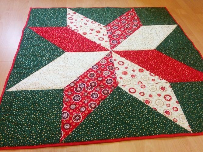 Makerist - ein Weihnachtsstern zum dritten Advent 🎄 - Patchwork-Projekte - 1
