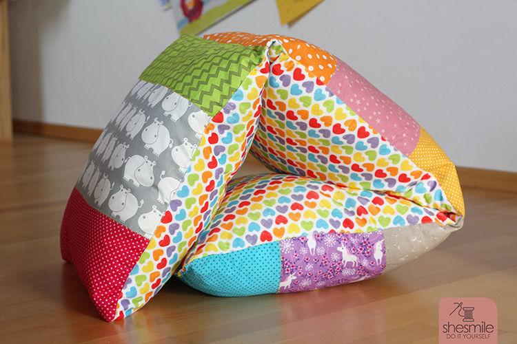 Makerist - Regenbogen-Kissen - Nähprojekte - 2