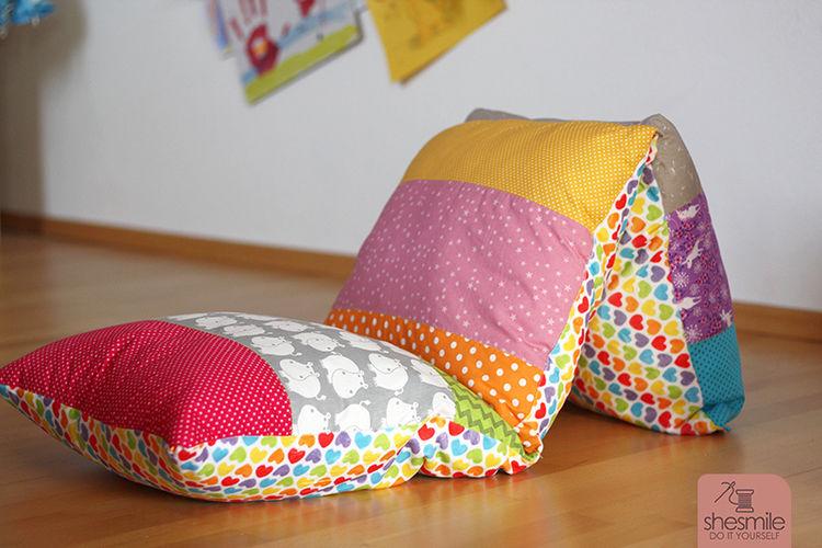 Makerist - Regenbogen-Kissen - Nähprojekte - 3