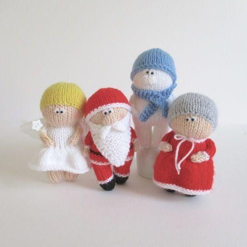 Makerist - Christmas Dolls - Knitting Showcase - 1