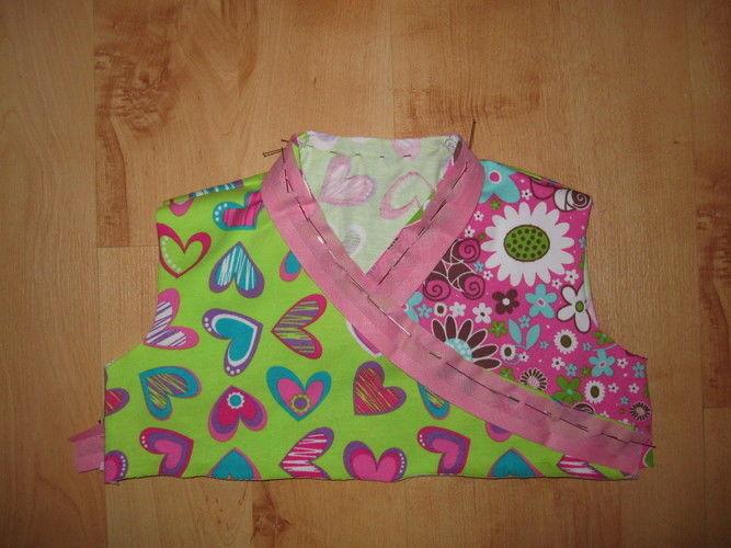 Makerist - Kleidchen in Wickeloptik: die Sommervariante - Nähprojekte - 3