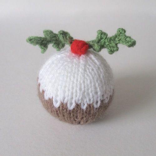 Makerist - Christmas Pudding Bauble - Knitting Showcase - 1