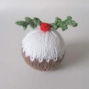 Makerist - Christmas Pudding Bauble - 1